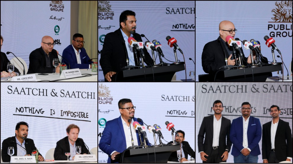 Publicis Groupe expands its presence to Sri Lanka by launching Saatchi & Saatchi