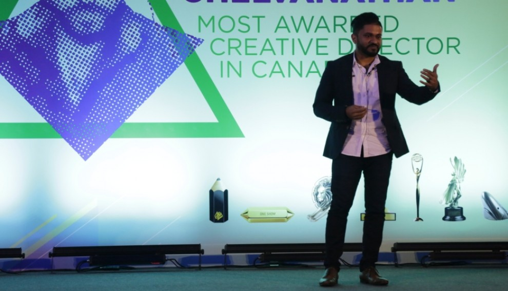 Anthony Chelvanathan, Group Creative Director, Leo Burnett Canada visits Sri Lanka