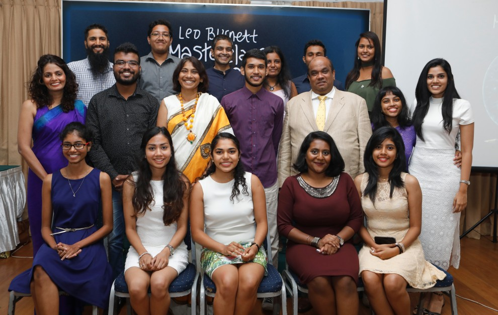 Leo Burnett Masterclass - 2017 Graduation Ceremony