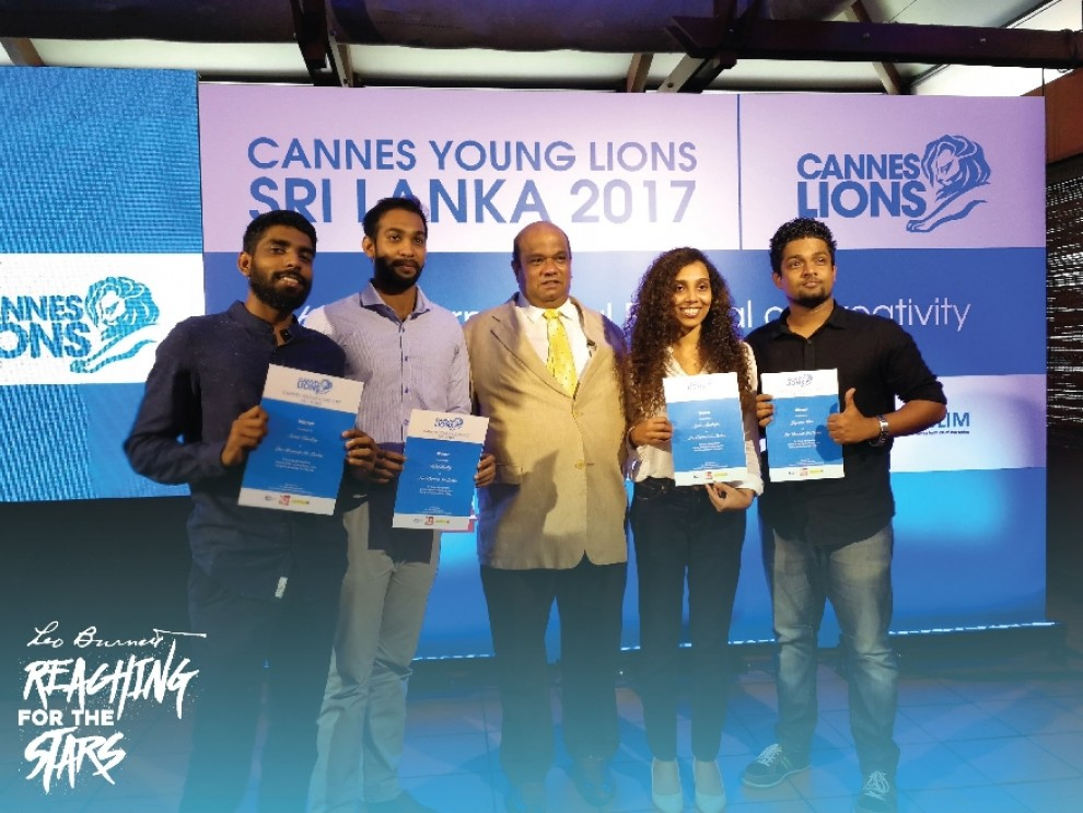 Four Young Burnetters to represent Sri Lanka at Cannes